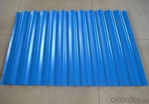 Prepainted Gavanized Steel Corrugated
