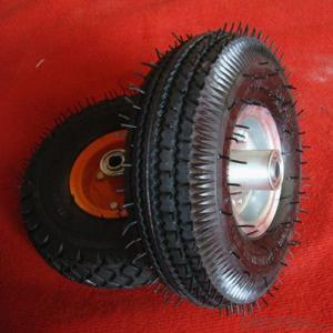 China Manufacturer Wheelbarrow Rubber Wheel 3.50-4