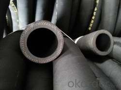 Black Oil Rubber Hose Oil-Resisting 5/16 Inch