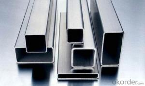 Aluminium Square Pipe-AA 6082