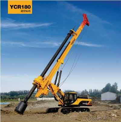 yuchai YC180R Rotary drilling rig