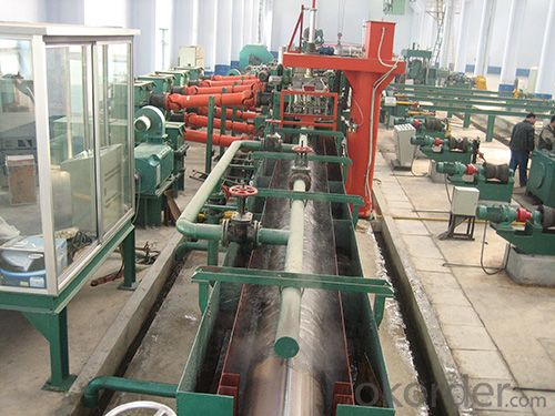 H.F pipe line / Φ426 pipe mill roll forming machine