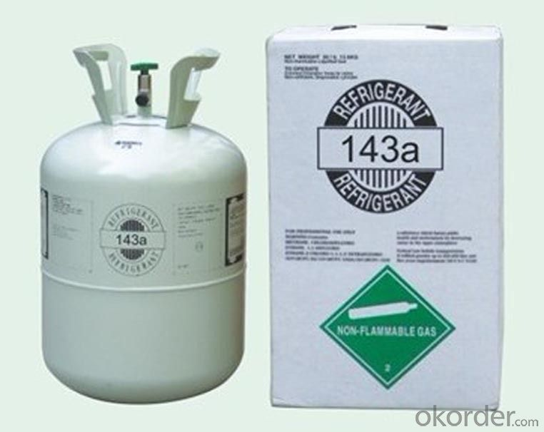Refrigerant R143a  in Disposable Cyl