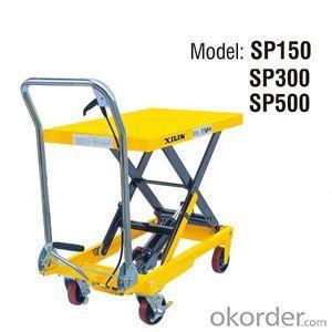 U.S. Type Manual Lift Table- SP150/300/500