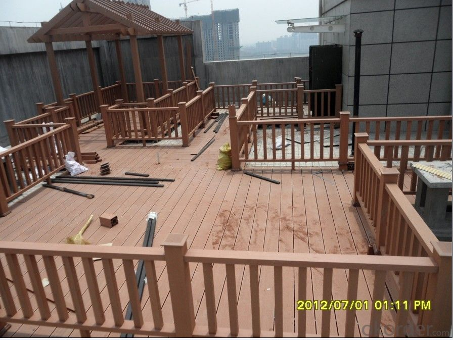 Good Quality Wood Plastic Composite Outdoor Decking Board