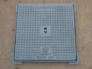 Cast iron square plate