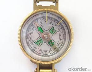 Portable Army or Military Compass in Metal
