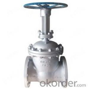 Gp240gh Rising Stem Gate Valve DN100