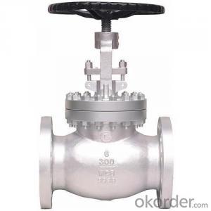wcb globe valve