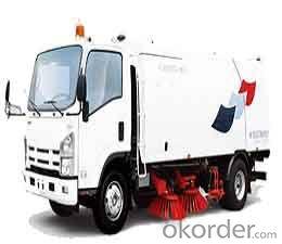 truck 4x2 Road Sweeper 8-12T