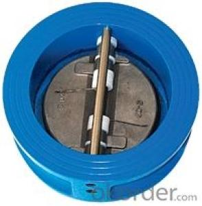 GB Standard Ductile Iron Wafer  Butterfly Valve