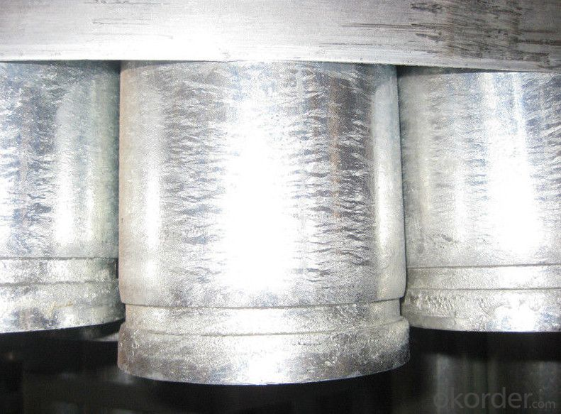 BS 1387 hot galvanized grooved pipes for fire fighting