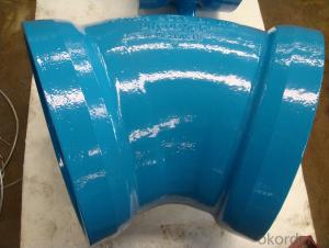 Ductile Iron Pipe Fitting with Double Socket  Bend