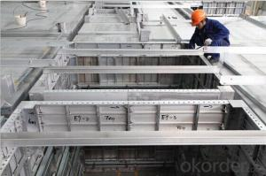 Aluminum Template System with Short Delivery