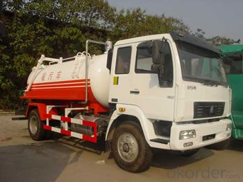 HOWO SEWAGE SUCTION TRUCK WHITE