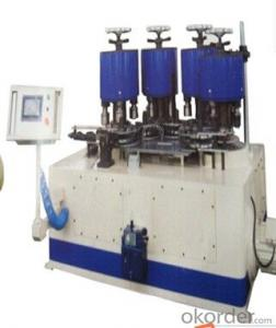 Automatic Necker Flanger Beader and Seamer Combiner Machine for Tin Can Box Making Line