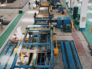 stel coil cut to length line