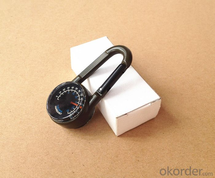 Metal Carabiner Magnetic Compass 27