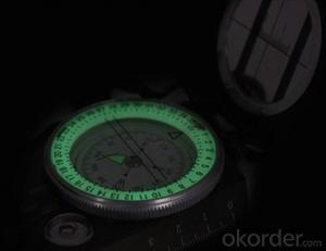 Luminous Army or Military Compass in Metal