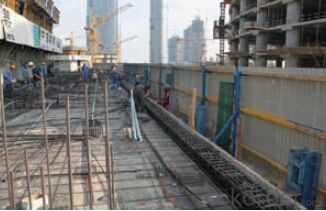 Protection Platform formwork and scaffolding system