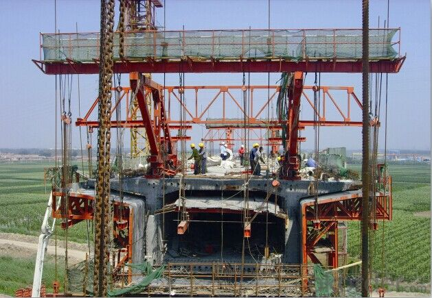 Concrete Pre-faricated Box Girder Formwork