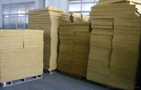 Insulation Rock Wool Board 190KG 50MM