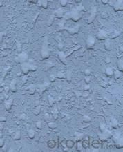 Powdered relief paint
