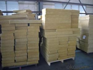 Rock Wool Board 40KG For Insulation