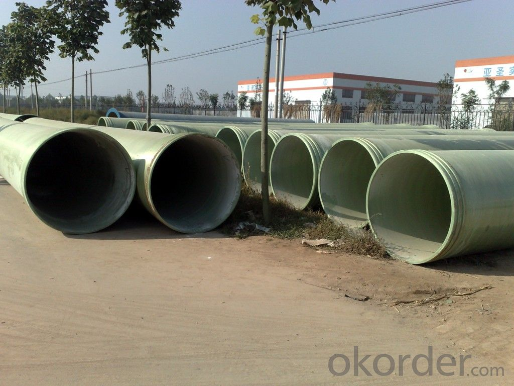 FIBER GLASS REINFORCED PLASTICS PIPE DN1500
