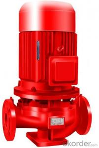 Fire fighting pump XBD-ISG