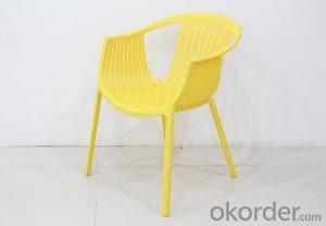Plastic Garden Chairs with Fashion Design