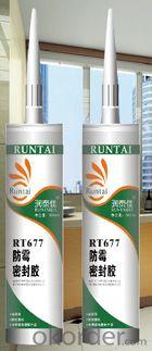 RT-677 Acetoxy Anti-fungal Silicone Sealant