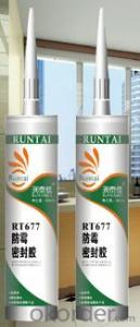 RT-677 Acetoxy Anti-fungal Silicone Sealant