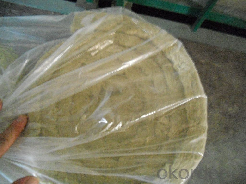 Rockwool Blanket Wire Meshed Rockwool Blanket Unfaced