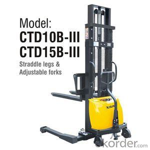 Semi-electric Stacker- CTD10B-III/15B-III