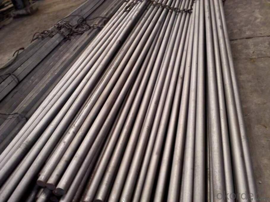 Hot Rolled Spring Steel Bar 60Si2CrA with High Quality for Construction