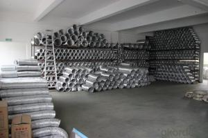 Uninsulated Aluminum Flexible Bare Duct