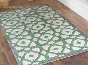 Chinese Polyester Hand Tufted Hotel Carpet