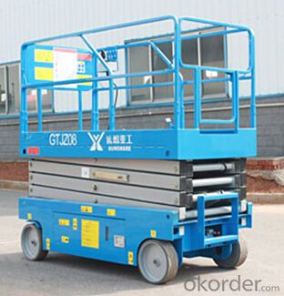 Electric-Scissor-Lift-GTJZ08,-GTJZ10,-GTJZ10A