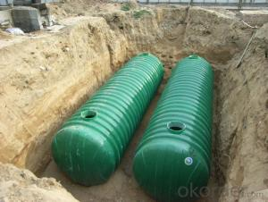 Fiberglass Reinforced Plastic High Quality FRP Pretreatment Tank  DN3000