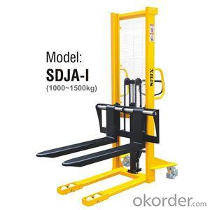 MANUAL STACKER Adjustable Forks Style- SDJA-I