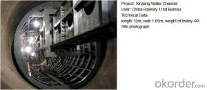 High-speed Installation Tunnel Steel Template