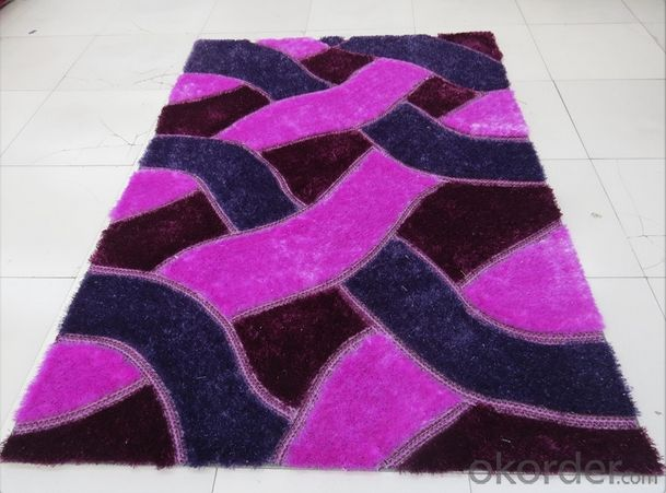 Multi- structure Chinese Knot Rug