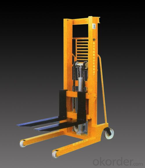 manual type hydraulic stacker