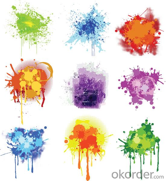 Bule color  paints