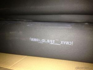 CMAX rubber insulation