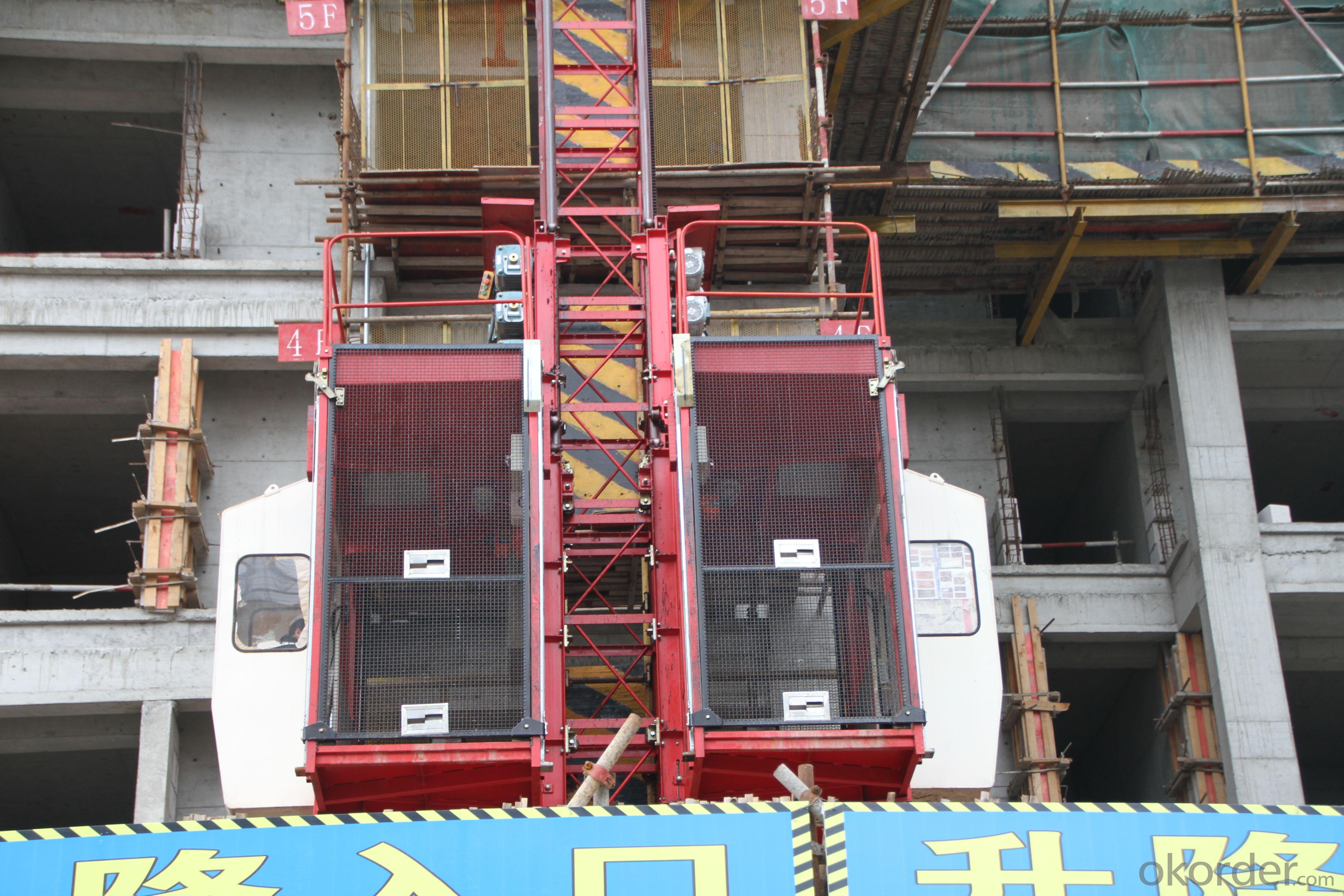 SJ Construction elevator