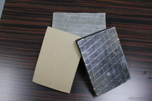 rubber plastic aluminum foil faced