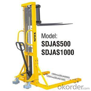 MANUAL STACKER Straddle Legs Style- SDJAS500/1000