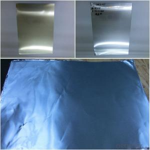 transparent color coated aluminium foil and coils
